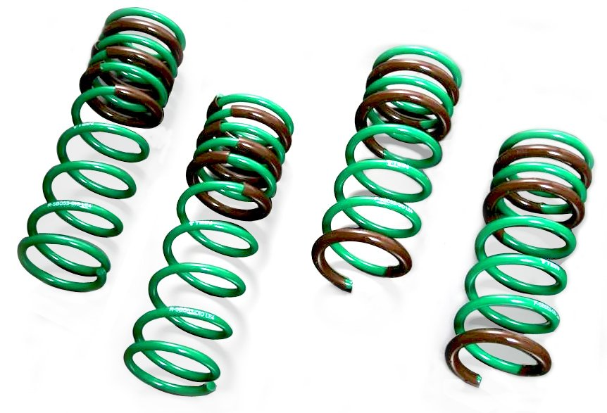 Tein SKQ26-AUB00 S.Tech Lowering Spring for Toyota Corolla