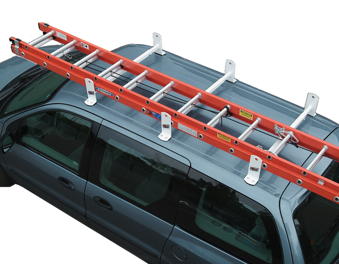 Cross Tread Roof Mount Van Rack Free Shipping