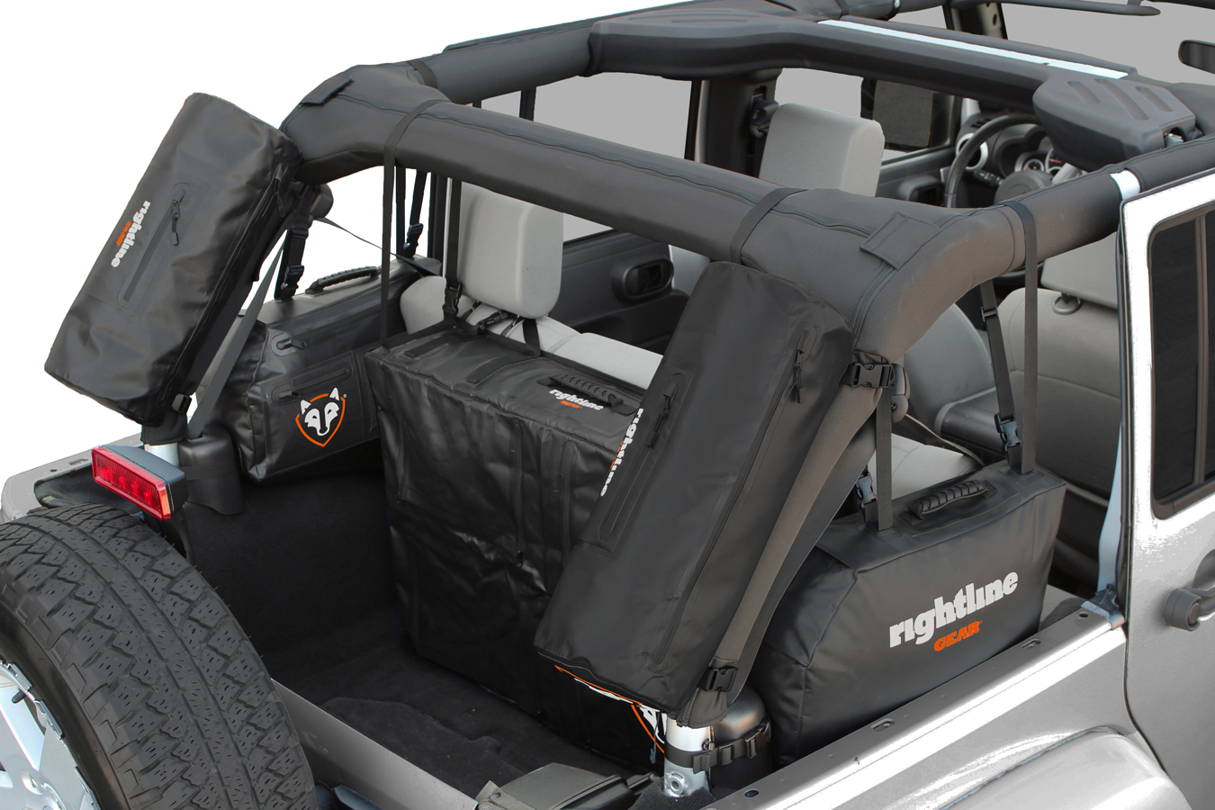 Jeep Wrangler Colors >> Rightline Jeep Storage Bags - Jeep Wrangler Cargo Solutions Ship Free