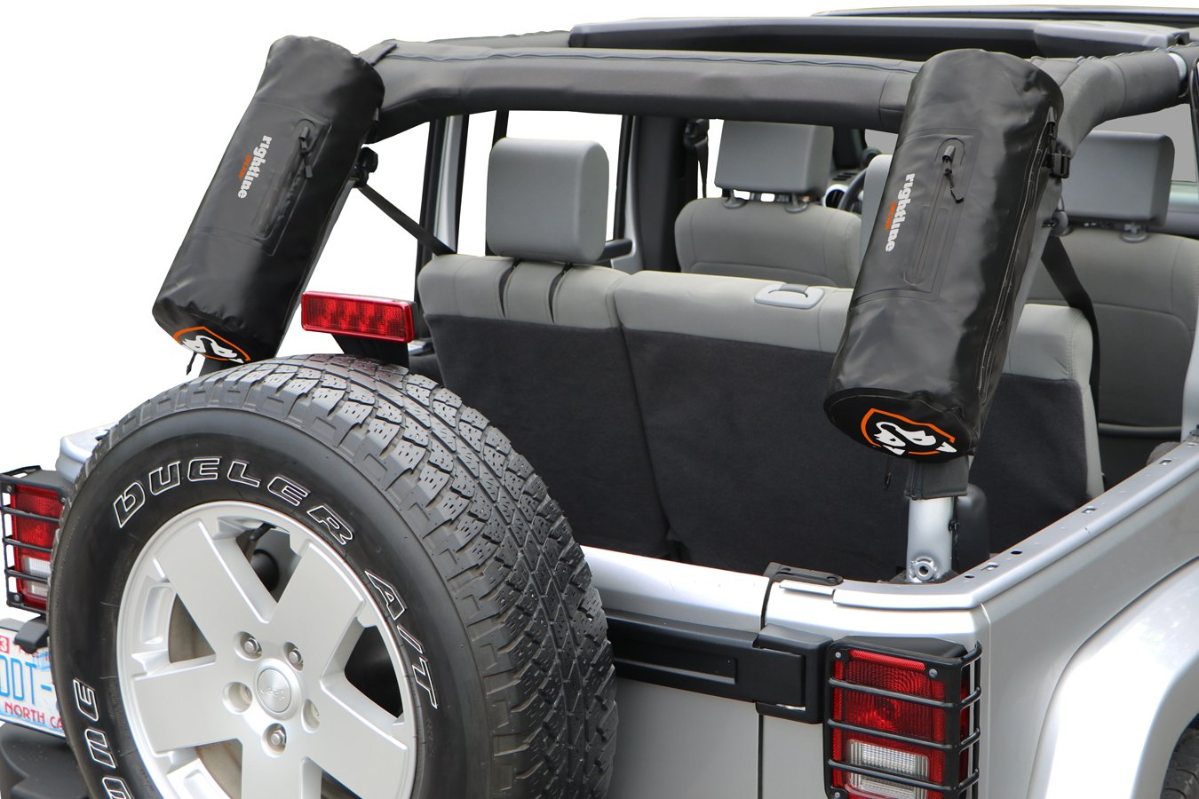 Rightline jeep storage bags jeep wrangler cargo solutions ship free for Jeep wrangler interior accessories