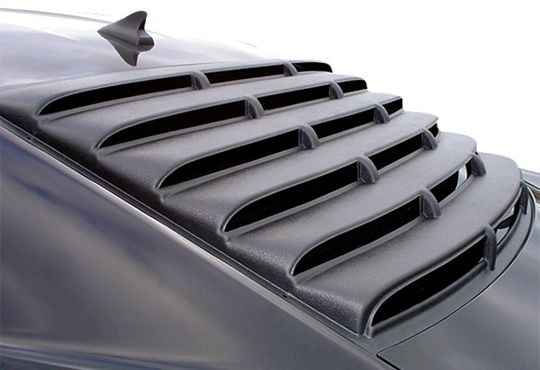 Chevy Camaro Custom Window Louver Side Window Smooth Paintable
