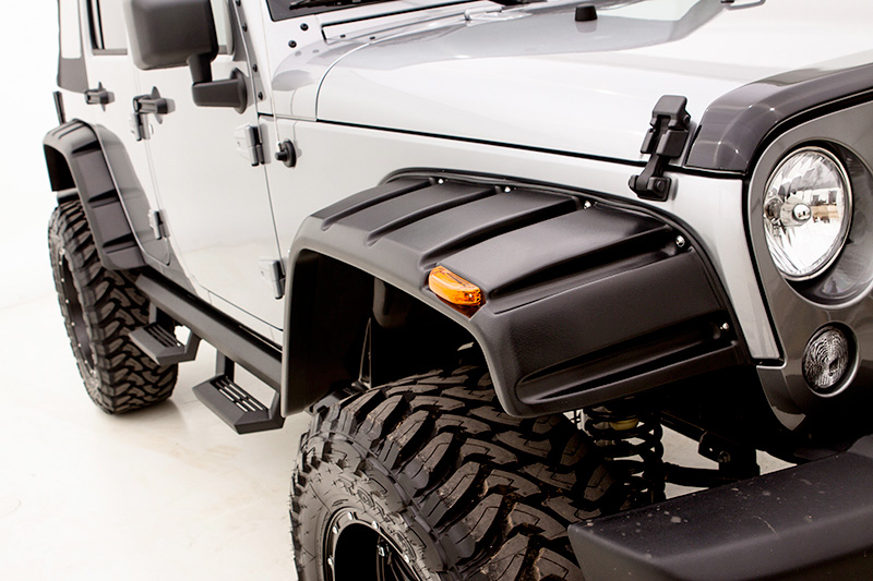 Rampage Rivet Style Fender Flares Free Shipping