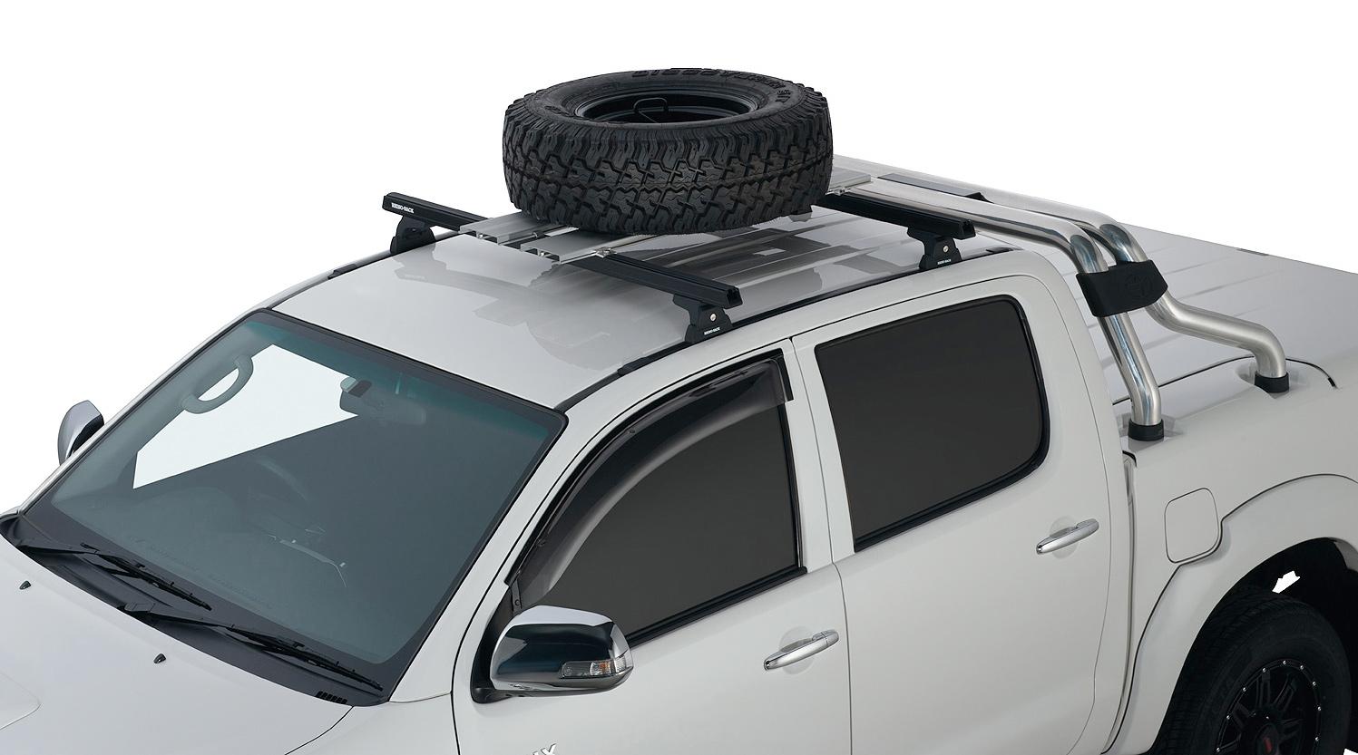 Honda Odyssey Roof Rack >> Rhino-Rack Roof Mount Wheel Carrier ...