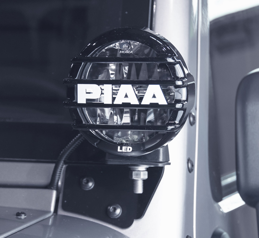 Piaa Led Jeep Pillar Mount Driving Light Kit Free Shipping