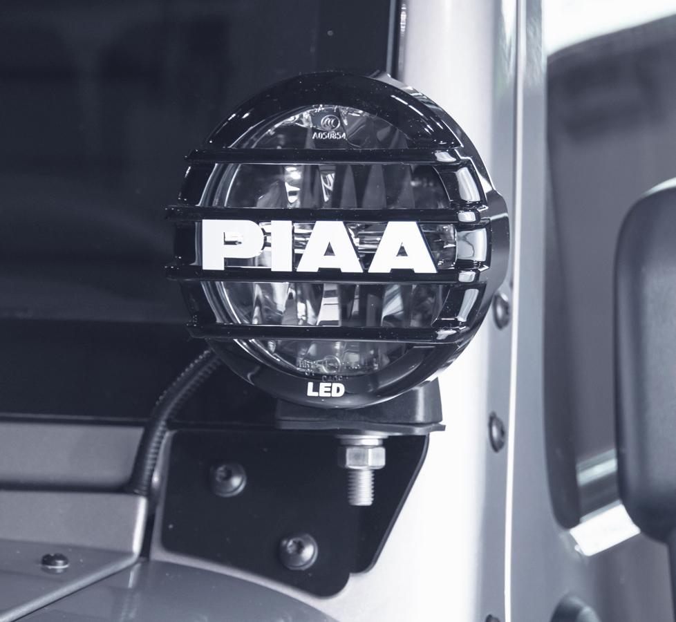 Piaa Led Jeep Pillar Mount Driving Light Kit Free Shipping