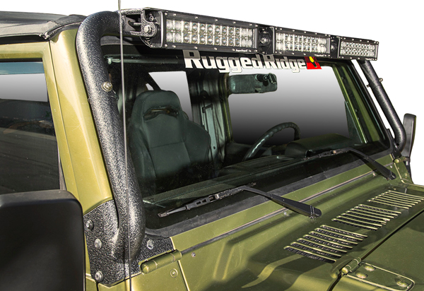 Rugged Ridge Windshield Light Bar