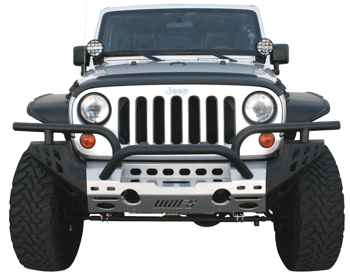 Aries Modular Jeep Front Bumper Kit Free Shipping