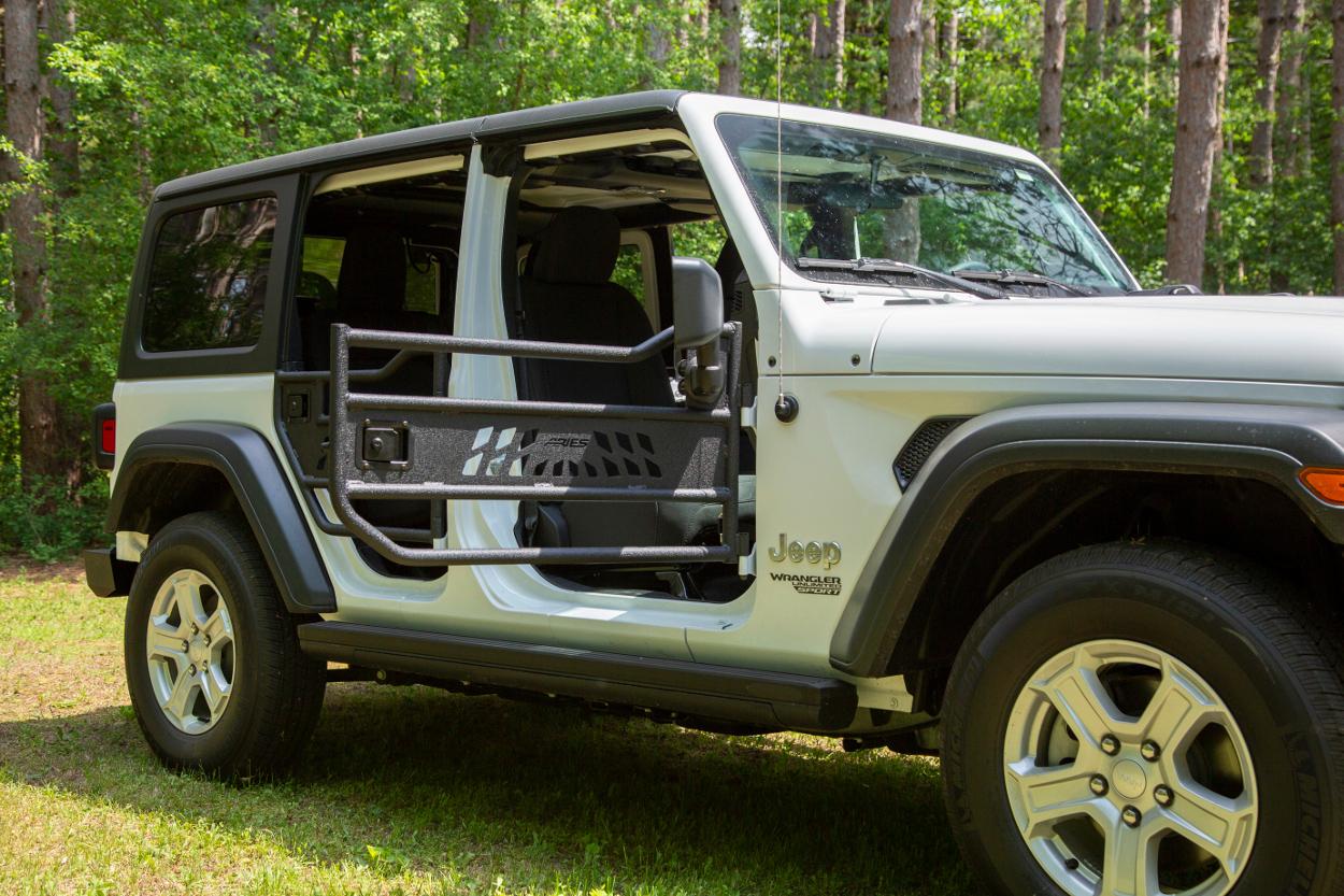 Aries Tubular Jeep Doors Autoaccessoriesgarage