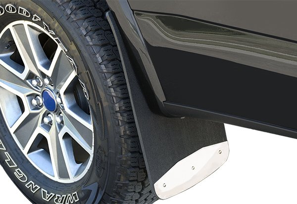 """08-16 Ford F-250//F-350 Super Duty Luverne 23/"""" Front//Rear Contoured Stainless Ste"""