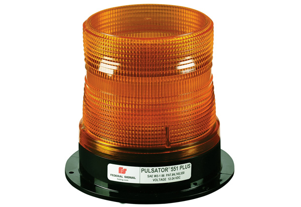 Federal Signal Pulsator 551 Plus Strobe Beacon Free Shipping