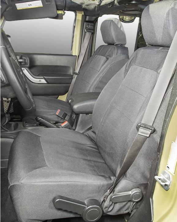 Rugged ridge elite ballistic seat covers for Interior jeep accessories