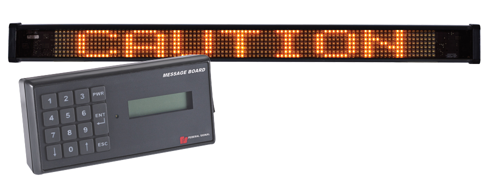Federal Signal Led Message Board Autoaccessoriesgarage