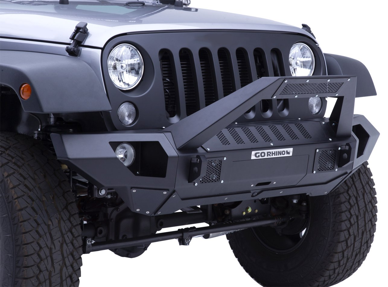 clearance bumper p modular ridge jk jeep for rugged pair xhd front high bumpers end wrangler