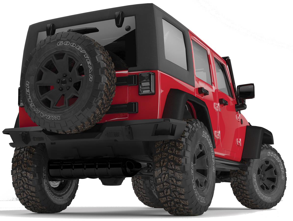 2007 2018 jeep wrangler go rhino brj80 rear bumper go. Black Bedroom Furniture Sets. Home Design Ideas