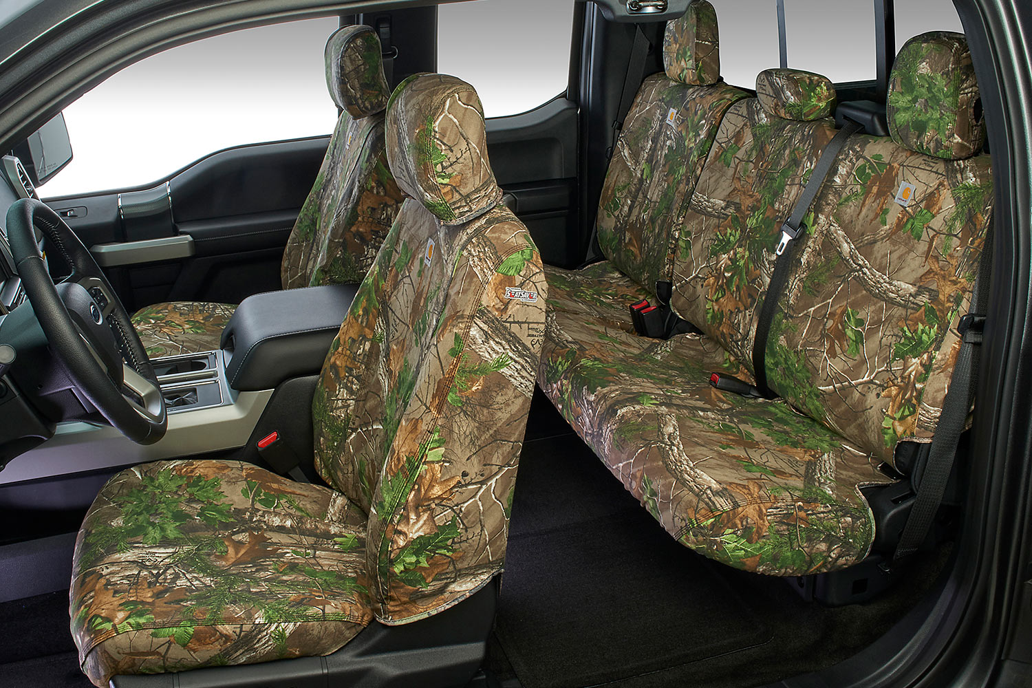 Toyota Sienna Parts >> Carhartt Realtree Camo Seat Covers - Free Shipping