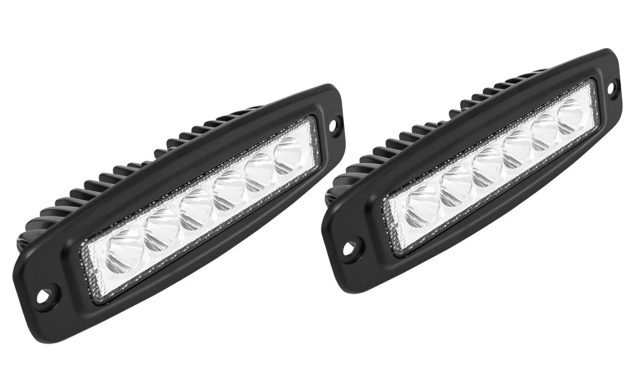 Westin Flush Mount LED Auxiliary Light AutoAccessoriesGarage