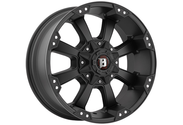 Ballistic 845 Morax Series Wheels