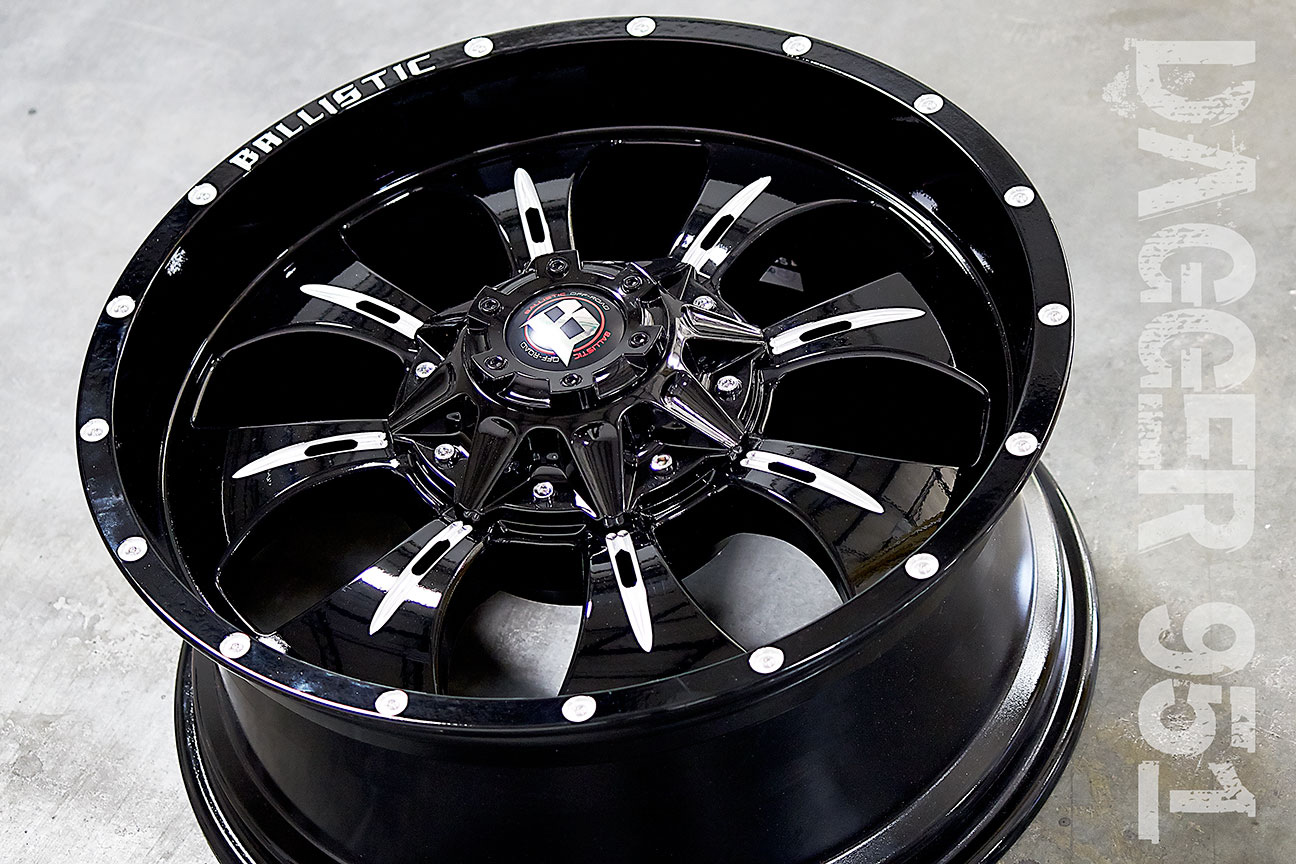 Ballistic 951 Dagger Series Wheels Free Shipping