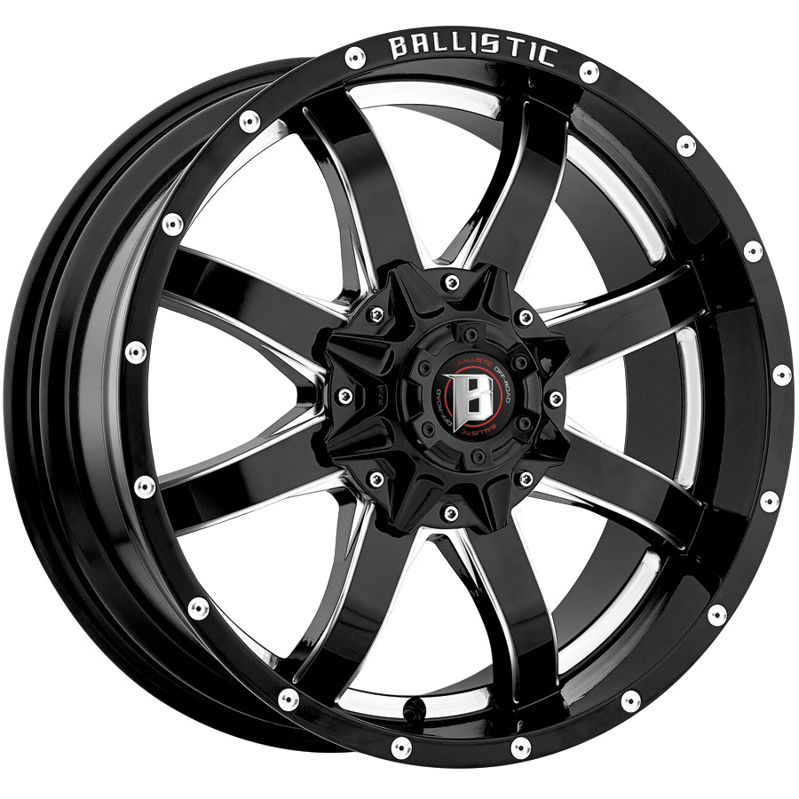 Ballistic 955 Anvil Series Wheels
