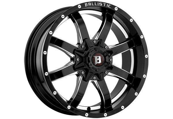 Ballistic 955 Anvil Series Wheels