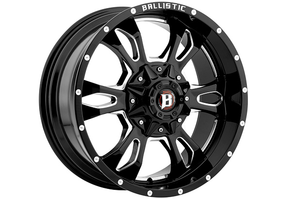 Ballistic 957 Mace Series Wheels Free Shipping
