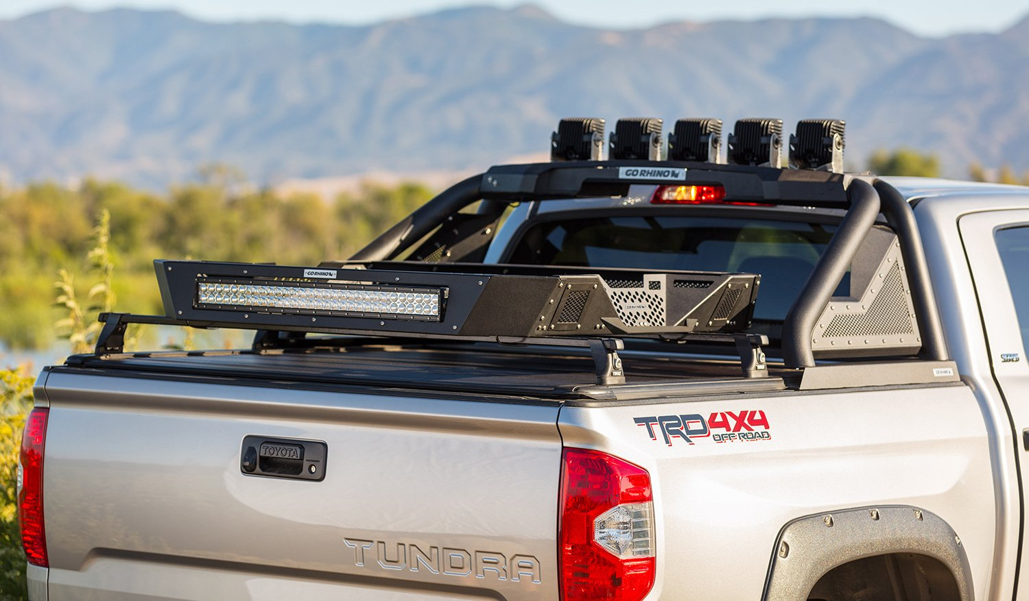 Rhino Side By Side >> Go Rhino SRM200 Roof Rack - Ships Free and Price Match ...