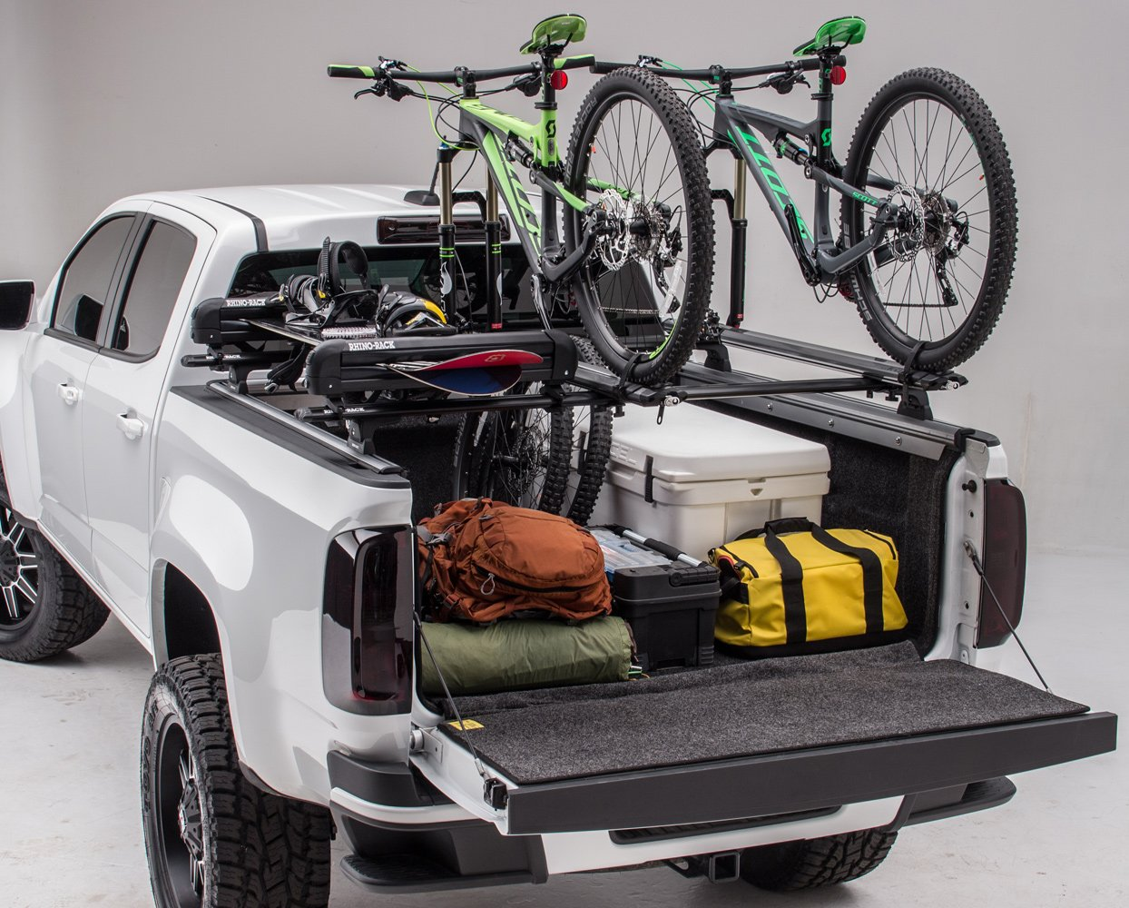 Nissan Frontier Truck Bed Bike Rack Swagman Pick Up Truck