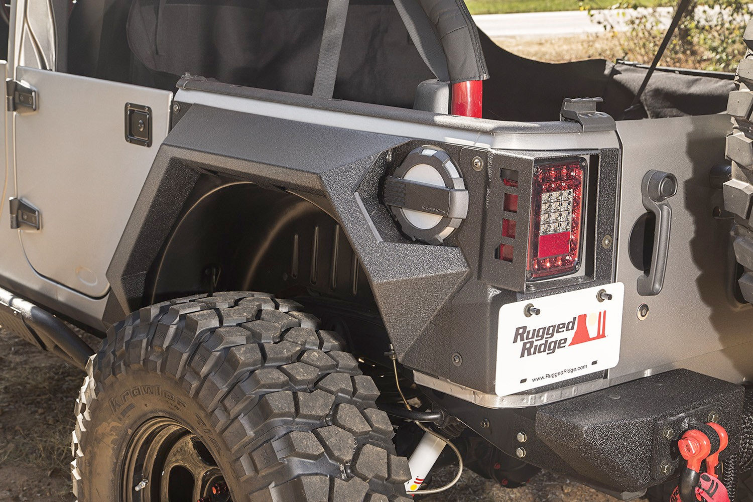 Rugged Ridge Xhd Armor Fenders Autoaccessoriesgarage Com