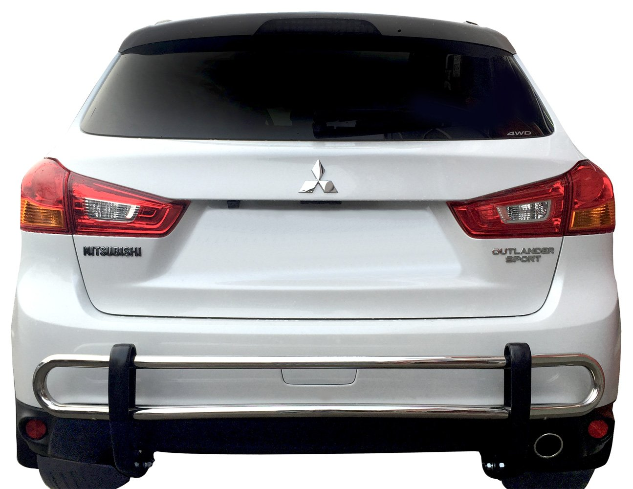 Broadfeet Rear Bumper Guard Off Road For Honda Minivan