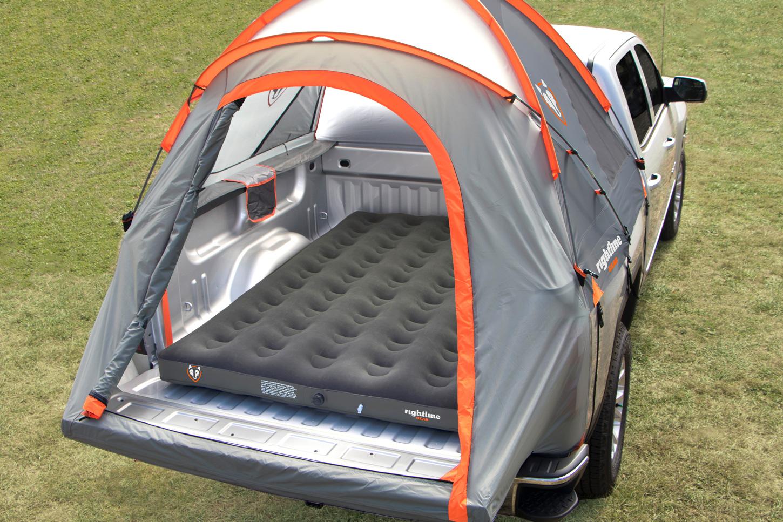 Regular Air Mattress In Truck Bed