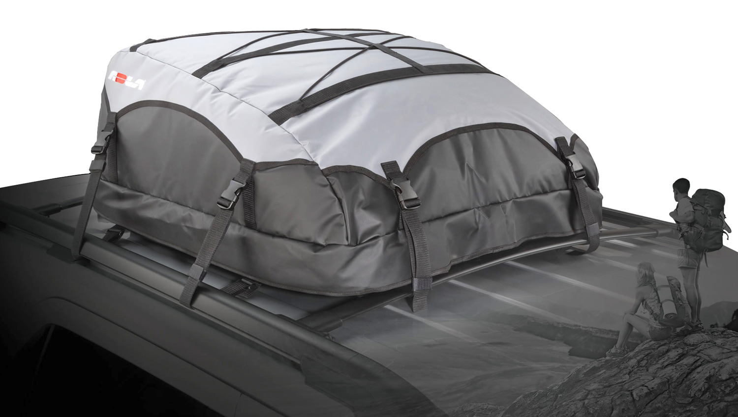 Rola Platypus Expandable Roof Top Cargo Bag Free Shipping