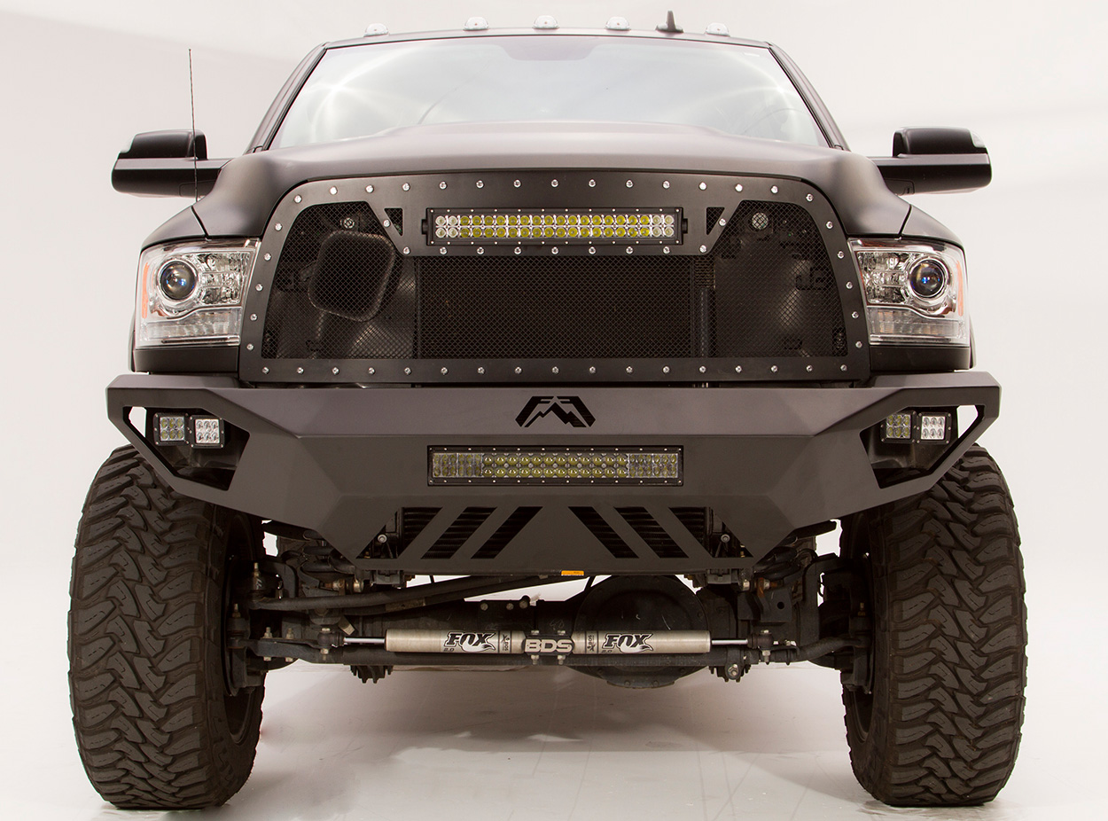 Fab Fours Vengeance Front Bumper Free Shipping on f