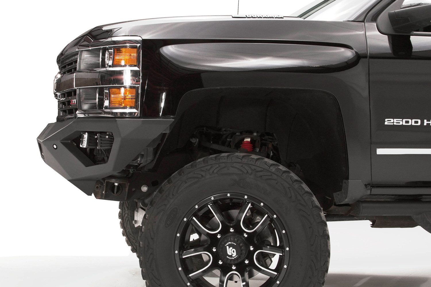 2017 ford f450 fab fours vengeance front bumper fab for Garage six fours centre auto
