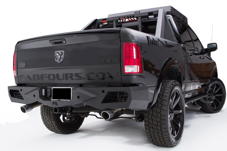Fab Fours Vengeance Rear Bumper - Replacement Tail Bumper ...