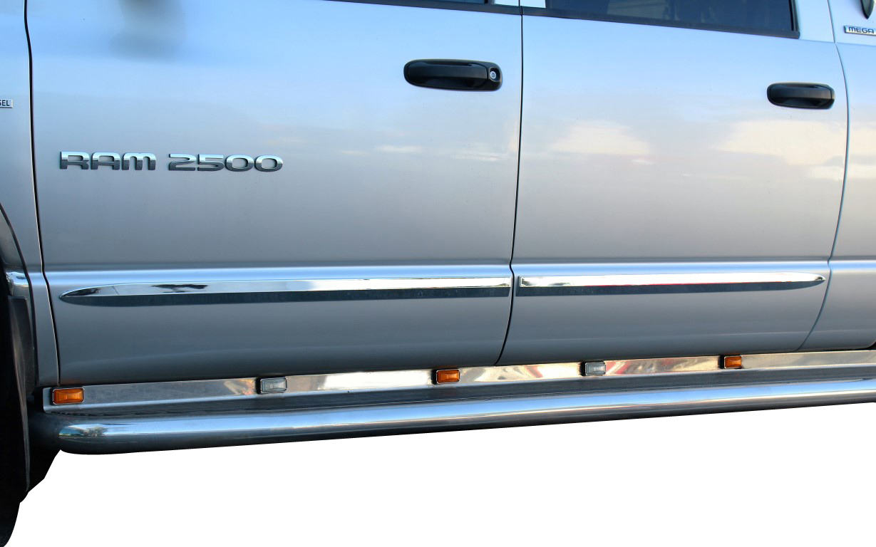 Carrichs Chrome Body Side Molding Truck And Suv Metallic