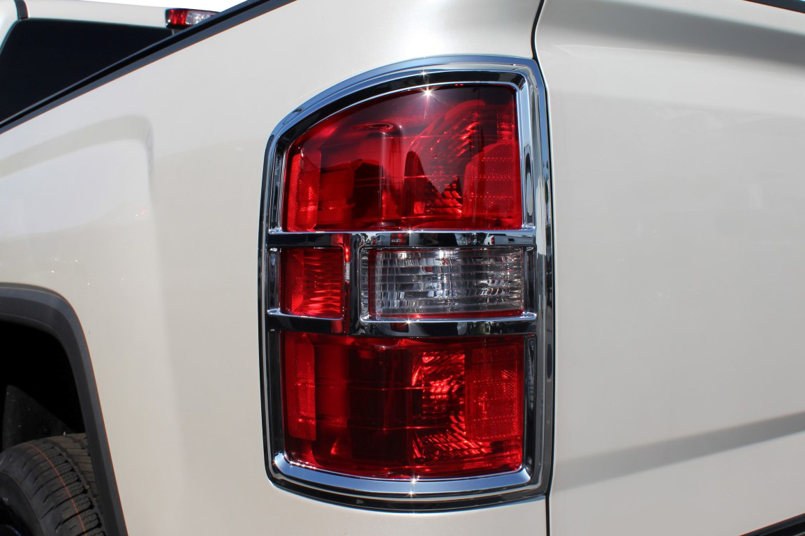 Carrichs Chrome Tail Light Covers Metallic Rear Covers
