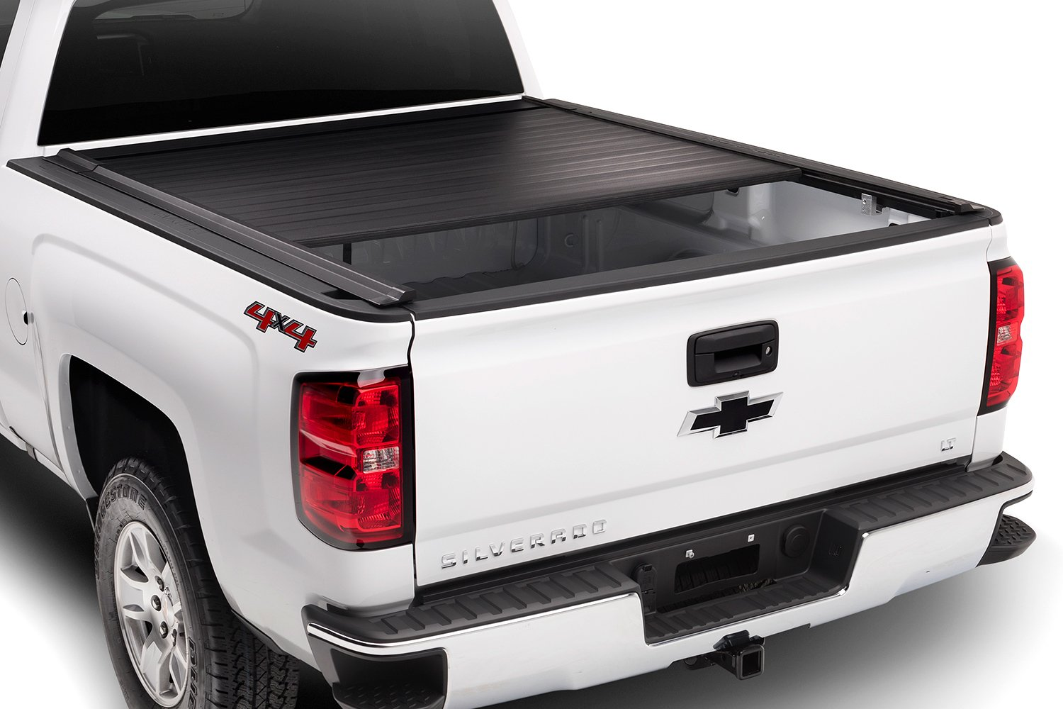 Trident fasttrack retractable tonneau cover retracting for Retractable bed