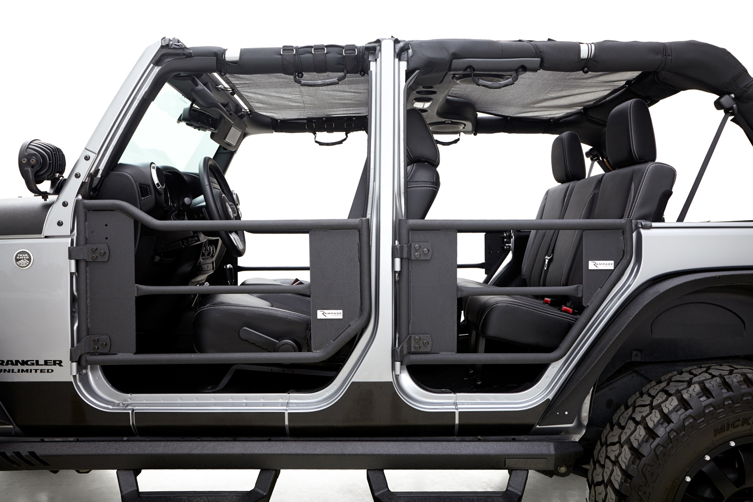 Rampage Trail Doors Safari Style Jeep Wrangler Door