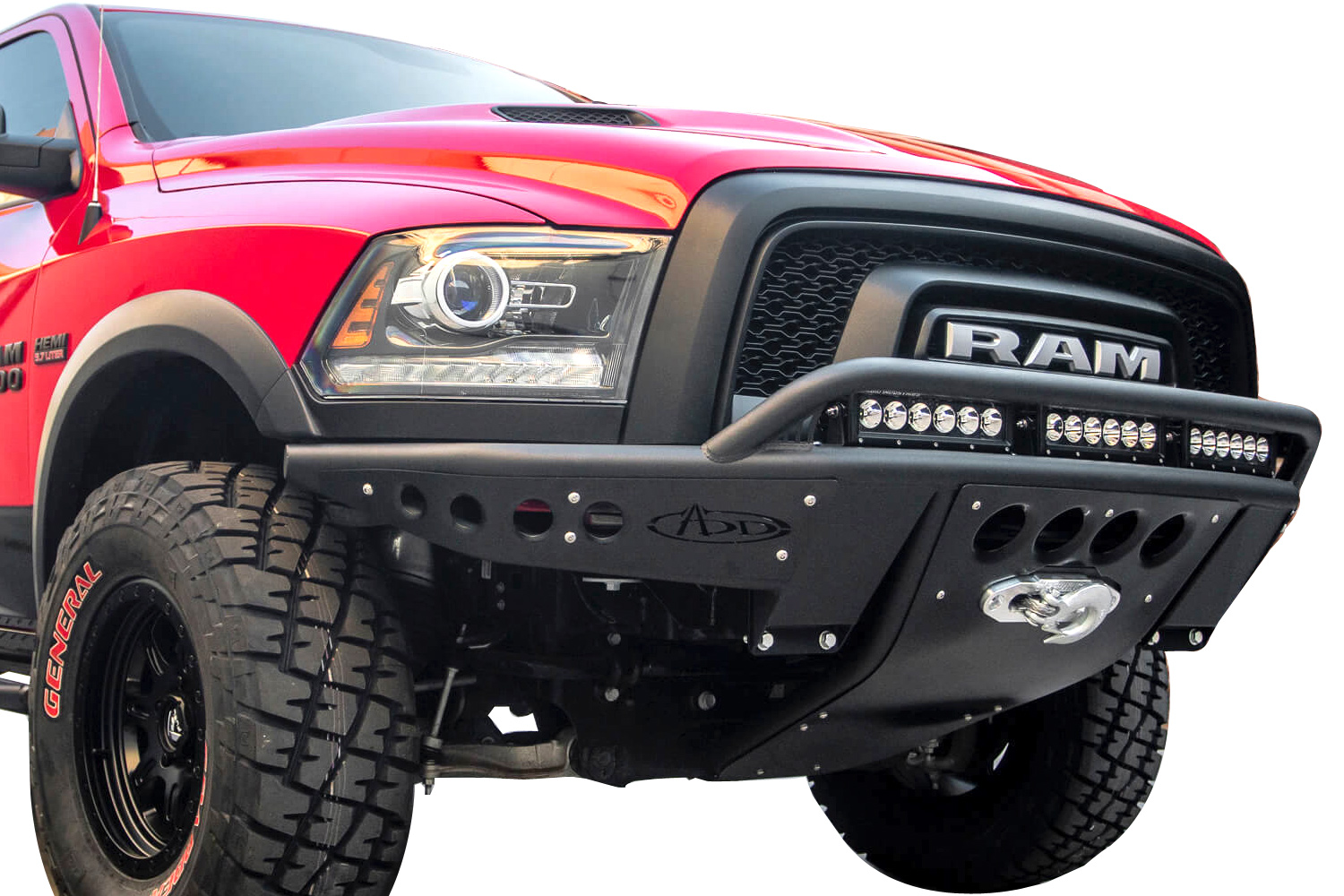 Truck Front Bumper >> Add Stealth Front Bumper