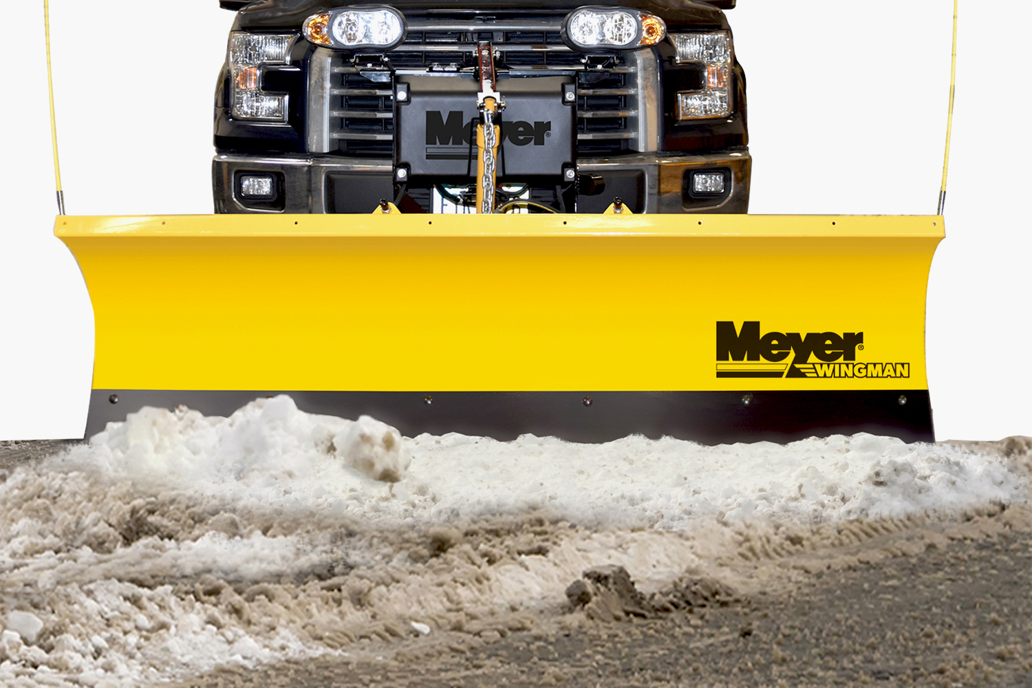 meyer wingman snow plow free shipping and price match guarantee. Black Bedroom Furniture Sets. Home Design Ideas
