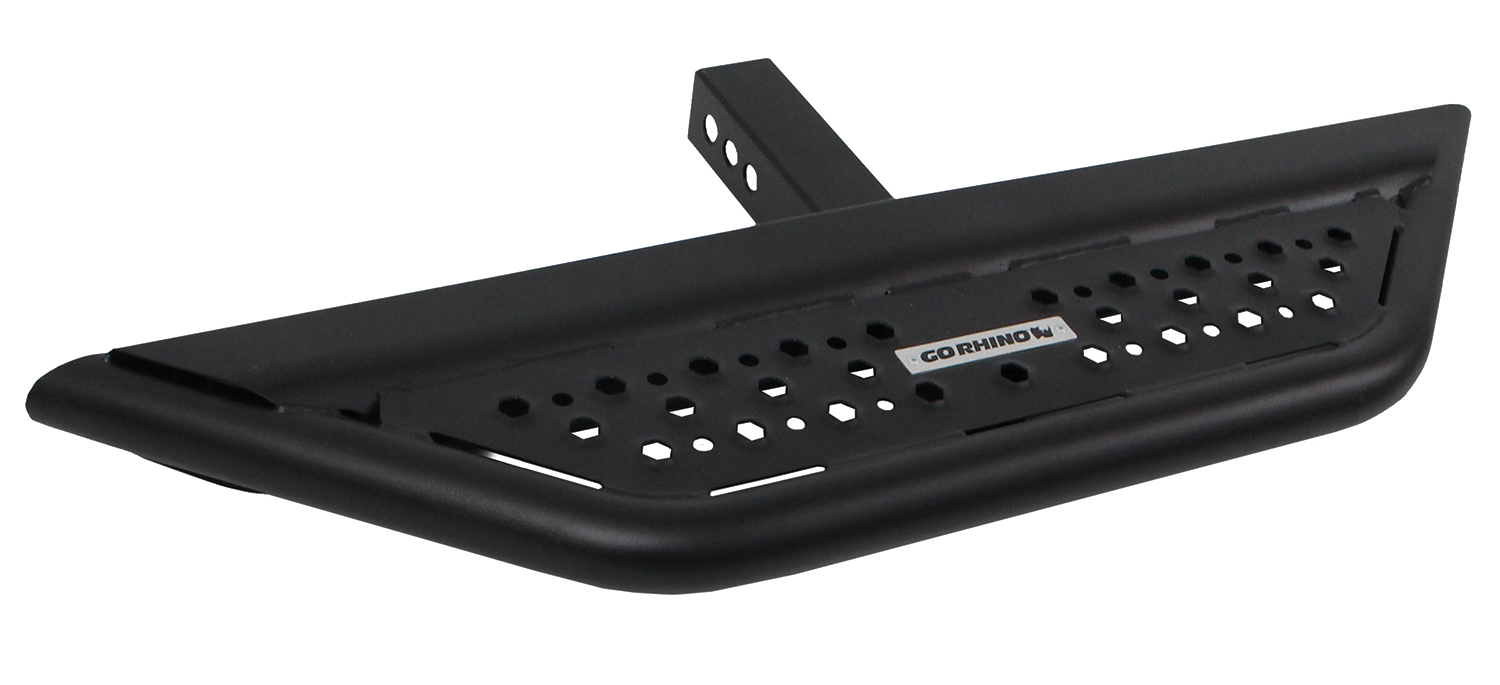 D6360T Textured Black Hitch Step Go Rhino