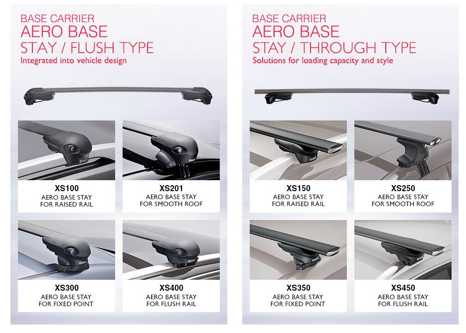 Inno Aero Base Roof Rack System Free Shipping