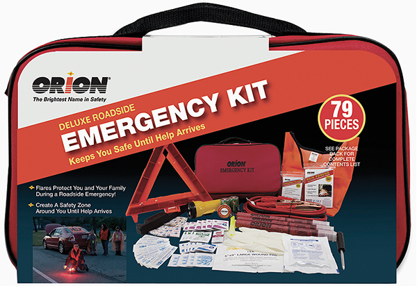 Orion 79-Piece Deluxe Roadside Emergency Kit