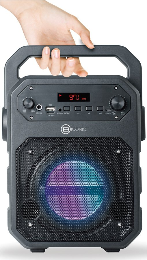B iconic Bluetooth Portable Subwoofer Speaker - Read ...