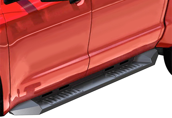 Black Horse Armour Running Boards