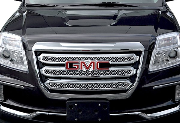 Black Horse Tape-On Chrome Grille
