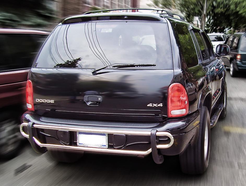 Black Horse CRDL-TOT101B Black Powder Coated Rear Bumper Guard