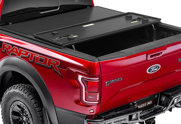 Rugged Premium Hard Folding Tonneau Cover