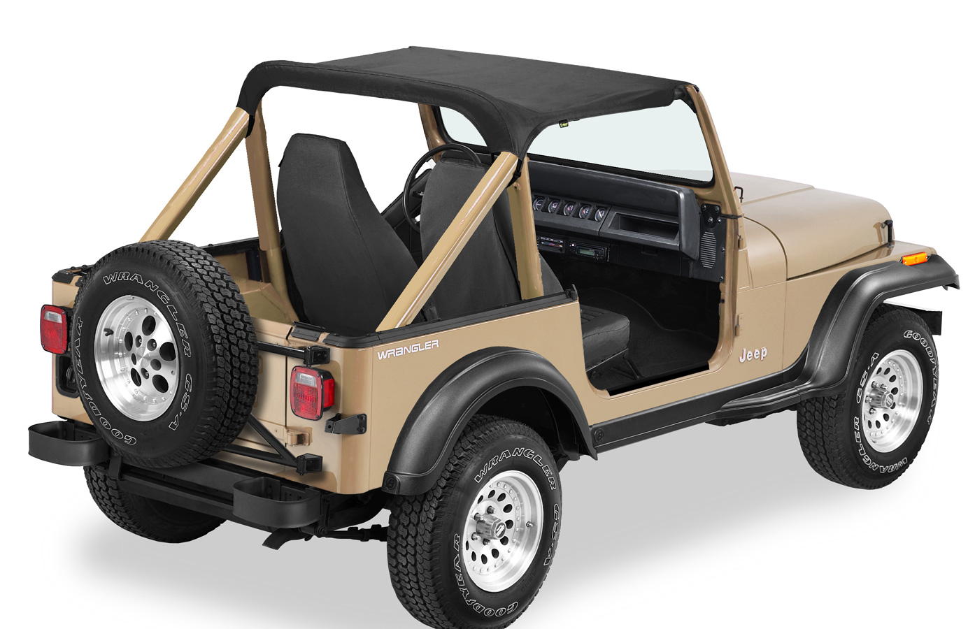 Bikini Top Jeep >> 1988-1994 Suzuki Sidekick Bestop Strapless Bikini Top - Bestop 52570-15