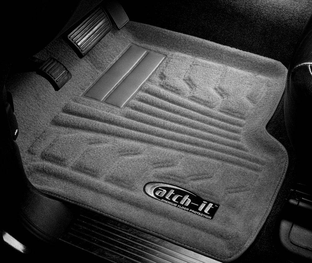 Lund 783034-G Catch-It Carpet Grey Rear Seat Floor Mat
